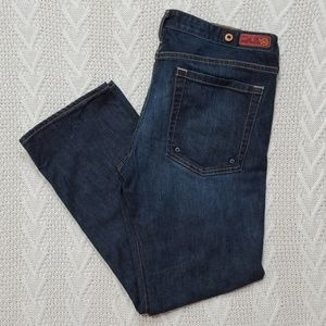AG Adriano Goldschmied The Cherish Cropped Jeans